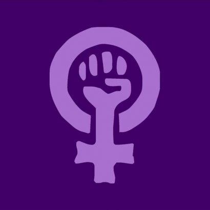 bandera para feministas