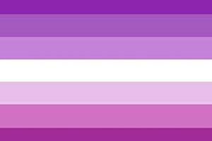 bandera para lesbianas