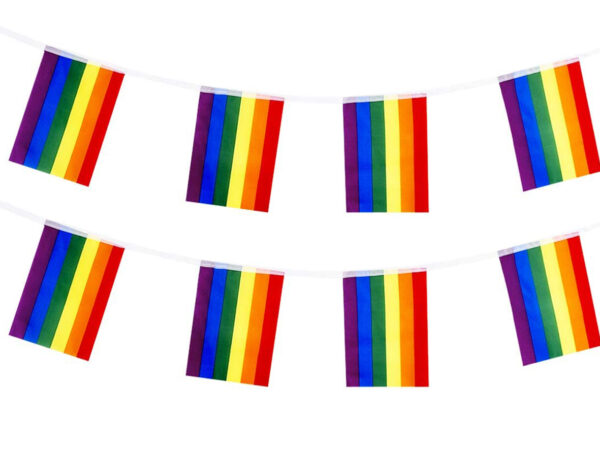 banderines lgtbi para fiestas