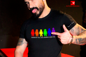 camiseta para comunidad lgtbi