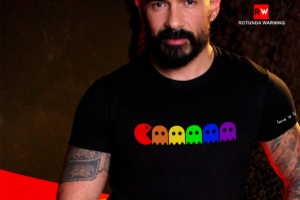 camiseta pacman para gay