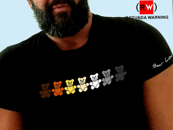 camisetas para hombres gay bear