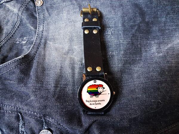 reloj para comunidad lgtbi